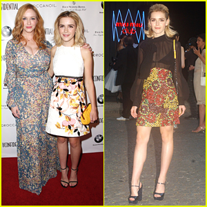 Kiernan Shipka Supports Christina Hendricks At 'Los Angeles Confidential' Magazine Party