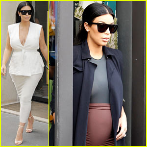 Kim Kardashian's Baby Bump Is Totally Visible Now - See Pics!
