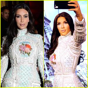 Kim Kardashian's Wax Figure in London Is Selfie Ready!