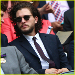 Kit Harington Suits Up for Wimbledon Tennis Championships!