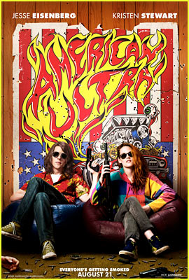 Kristen Stewart Is Locked & Loaded for 'American Ultra' Comic-Con Poster