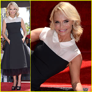 Kristin Chenoweth Gets a Star on the Hollywood Walk of Fame