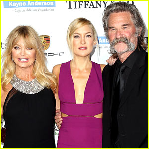 Kurt Russell Talks About Oliver & Kate Hudson's Dad Drama