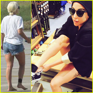 Lady Gaga Loves Chuck Taylors for When She 'Gives No F-cks'