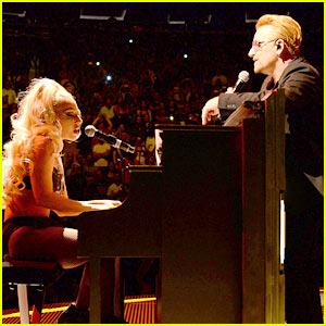 Lady Gaga Performs 'Ordinary Love' with U2 at MSG (Video)