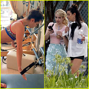 Lea Michele Shares How She Stays Active in New Orleans