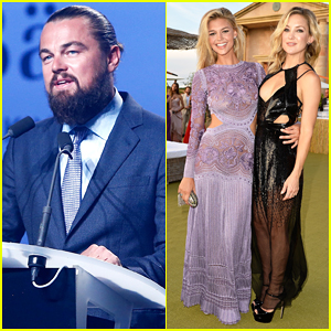 Leonardo DiCaprio Brings Girlfriend Kelly Rohrbach to 2nd Annual Foundation Gala, Raises $40 Million to Protect the Earth!