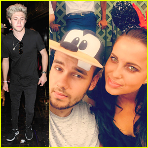 Liam Payne & Girlfriend Sophia Smith Enjoy Disney World & Dinosaurs In Florida