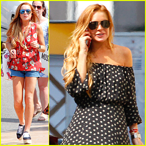 Lindsay Lohan Surrounds Herself With Strong & Smart Women!