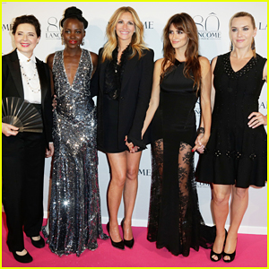 Lupita Nyong'o & Julia Roberts Join Forces with Penelope Cruz & Kate Winslet at Lancome's 80th Anniversary Party!