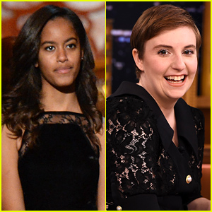 Malia Obama Is Interning on Lena Dunham's 'Girls' This Summer!