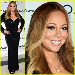 Mariah Carey Wears $500,000 Necklace from New Boyfriend