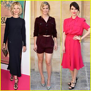 Meg Ryan, Alice Eve & Carice Van Houten Are Classy Ladies for Schiaparelli Show