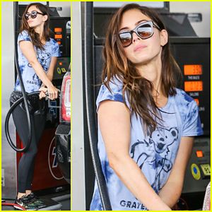 Megan Fox Fuels Up Grateful Dead Style!