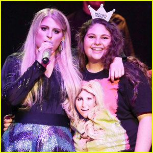 Meghan Trainor Surprises Fan at Home on 'Knock Knock Live'