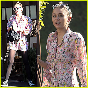 Miley Cyrus Gets By With A Little Help From Her Friends