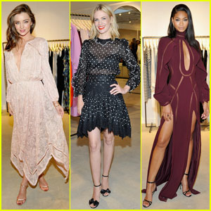 Miranda Kerr & January Jones Get Dressy for Zimmermann Summer Cocktail Party