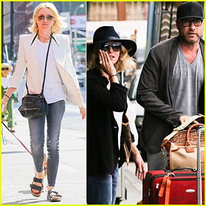Naomi Watts & Liev Schreiber Are Puppy Parents in the Big Apple