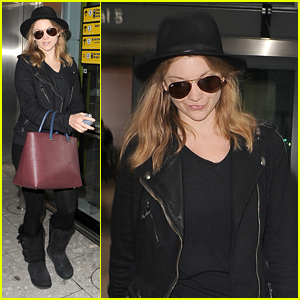Natalie Dormer Flies Back To London After Comic-Con