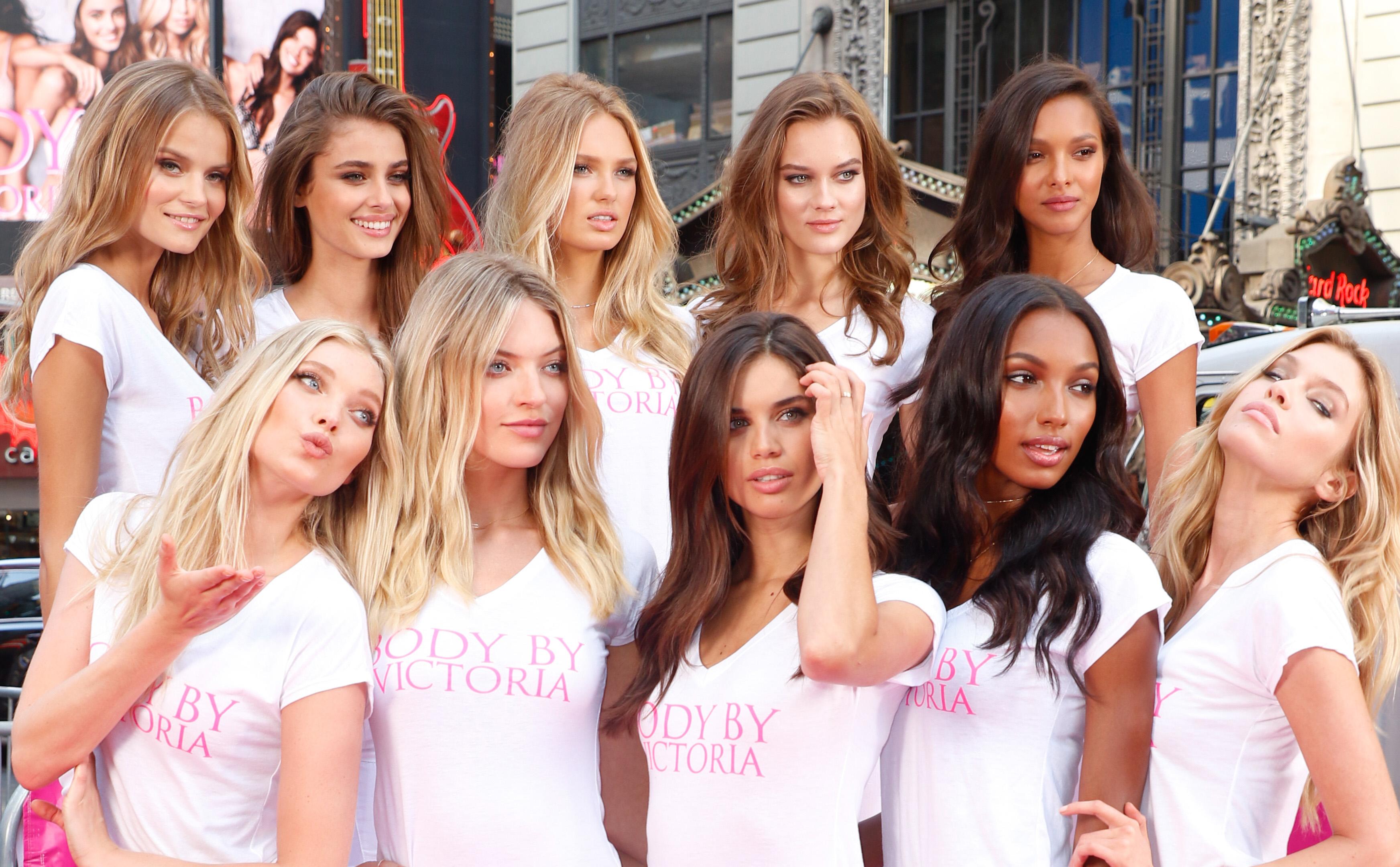 Ten New 'Victoria's Secret' Angels Promote Brand's New ...
