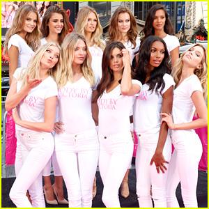 Ten New 'Victoria's Secret' Angels Promote Brand's New Campaign!