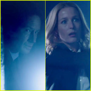 David Duchovny & Gillian Anderson Star in New 'X-Files' Footage!