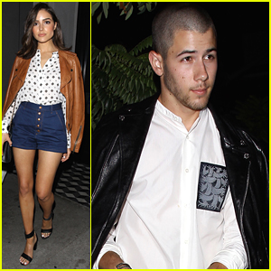 Nick Jonas & Olivia Culpo Almost Run Into Each Other While Out For Dinner!