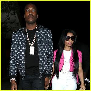 Nicki Minaj & Meek Mill Hold Hands for Night of Clubbing