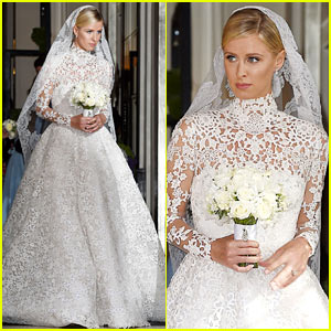 Nicky Hilton Looks Amazing in Her Wedding Dress - See Pics!