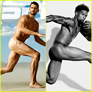 Odell Beckham Jr. & Kevin Love Go Nude for 'ESPN' Body Issue