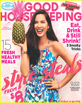 Olivia Munn Gushes About Her Boyfriend Aaron Rodgers in 'Good Housekeeping'