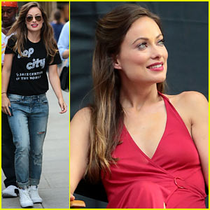 Olivia Wilde Got a 'Wrong Number' Text That Made Her Day