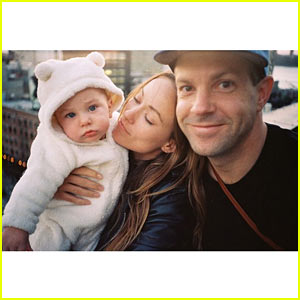 Olivia Wilde & Jason Sudeikis Snap Cute Family Photo with Otis