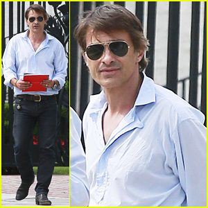Olivier Martinez Is Business Hot in Beverly Hills!