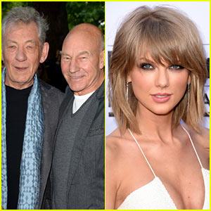 Patrick Stewart & Ian McKellen Join Taylor Swift's Squad!