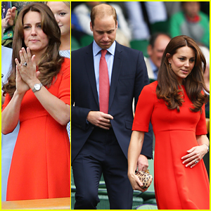 Prince William & Kate Middleton Cheer On Andy Murray at Wimbledon Championships!