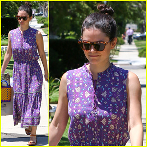 Rachel Bilson Brings Baby Briar Rose to a Birthday Party!