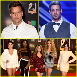 Ricky Martin, William Levy, & Fifth Harmony Hit The Stage at Univision's Premios Juventud 2015!
