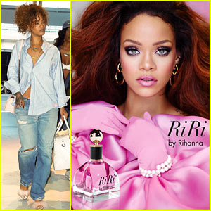 Rihanna Announces Her New Fragrance 'RiRi' - See the Ad!