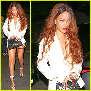 Rihanna Makes Epic Pop Star Exit at 'Bitch Better Have My Money' Music Video Premiere Event