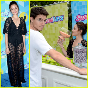 Robbie Amell & Italia Ricci Are One 'Sweet' Couple at JJ Summer Bash Presented by SweeTARTS Chewy Sours