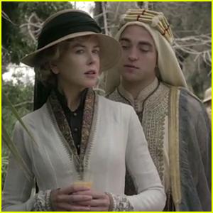 Robert Pattinson & Nicole Kidman Lead All-Star Cast in 'Queen of the Desert' Trailer - Watch Now!