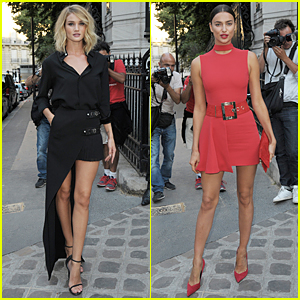 Rosie Huntington-Whiteley & Irina Shayk Look Beyond Gorgeous at Vogue Paris Gala