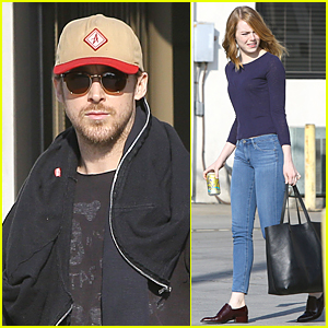 Ryan Gosling & Emma Stone Prep For 'La La Land'