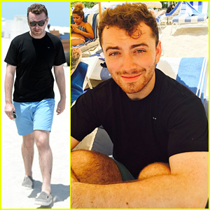 Sam Smith Is 'Completely & Utterly In Love with Miami'!