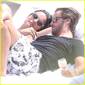 Scott Disick & Ex-Girlfriend Chloe Bartoli Get Cozy in Monaco