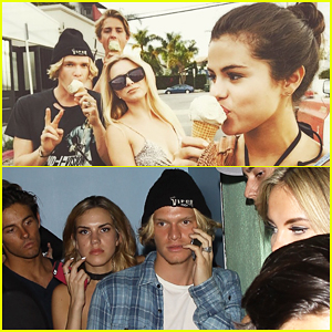 Selena Gomez Has 'Best Day' with Cody Simpson & Company!
