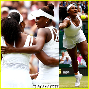 Serena Williams Defeats Sister Venus at Wimbledon 2015