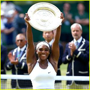 Serena Williams Wins Wimbledon, Closes In on Grand Slam!