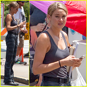 Shailene Woodley Takes a Break After Filming 'Allegiant'